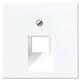Jung AS 500 Lautsprecherabdeckung weiß