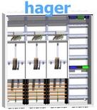 Hager - Zählerschrank für Dreipunktbefestigung