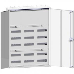 Hager Verteilerschrank für KNX, Reihenklemmen ZB33S Komplettset