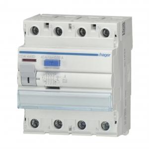 Hager FI Schutzschalter CDA440D 40A/30mA - FI Schalter