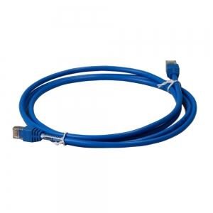 Hager Patch-Kabel ZZ45WAN200 2xRJ45 Stecker blau 2m