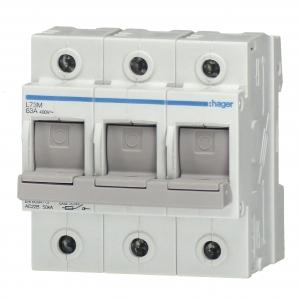 Hager Schalter-Sicherungs-Einheit L73M 3polig 63A (L73M)