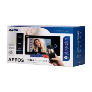 Orno Video-Türsprechanlage Einfamilienhaus OR-VID-WI-1068/B