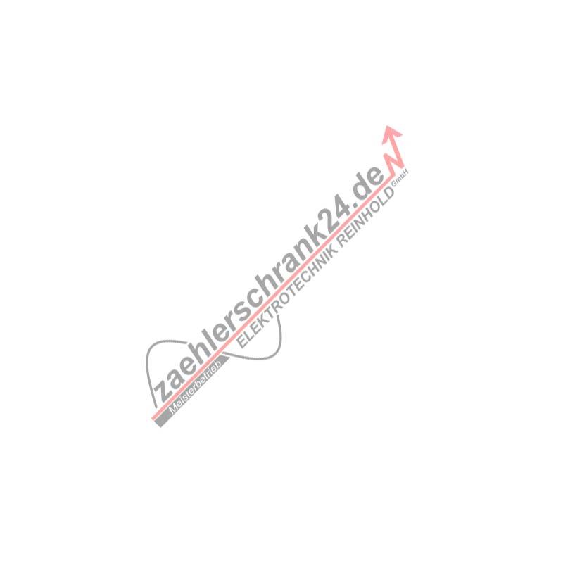 Boden-Einbau-Steckdose, rund, Edelstahl, IP20, 1 Schutzkontakt-Steckdose