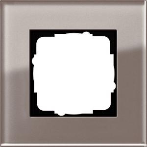 Gira Rahmen 0211122 1fach Esprit Glas umbra