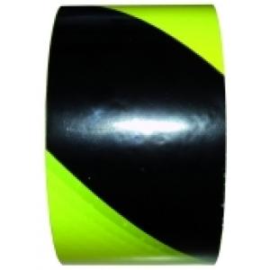 Warnband gelb/schwarz RW PWBSR (66 m)
