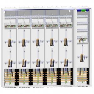 Zählerschrank 11 Zähler/Verteiler 1400 mm