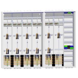 Zählerschrank 11 Zähler TSG/Verteiler Verteiler