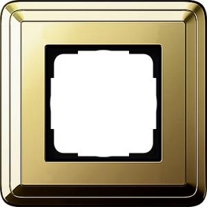 Gira Rahmen 0211631 1fach ClassiX Art messing