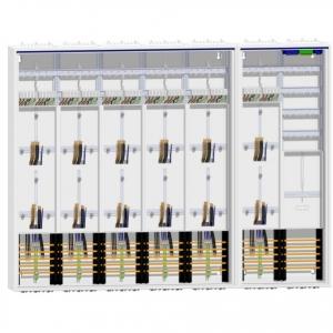 Zählerschrank 12 Zähler + TSG/Verteiler 1400 mm