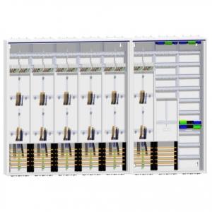 Zählerschrank 12 Zähler + TSG/Verteiler + Verteiler