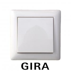 Gira Dimmer Set System 55 mit Eltako Dimmschalter