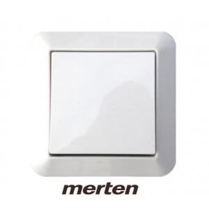 Merten Dimmer Set System M mit Eltako Tast Dimmschalter für LED, Glühlampen und ESL