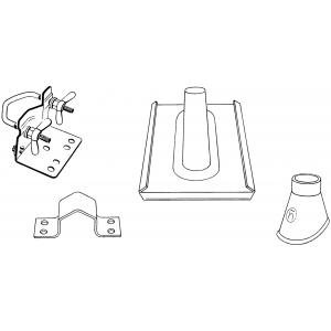 Triax Mastzubehoer-Set MZ 50 (910 851-102)