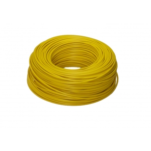 H07V-K 1x2,5 RG100m gelb PVC-Aderleitung