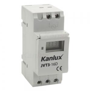KANLUX Digital-Zeitschaltuhr für TH35 JVT3 JVT3-16AS