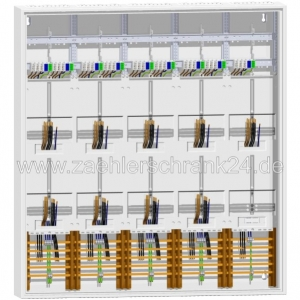 ABN Zählerschrank TSG 1400 mm 9 Zähler