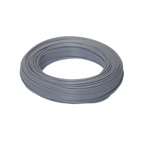 H05V-K 1x0,5 RG100m grau PVC-Aderleitung