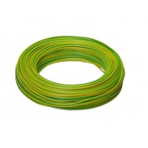 H07V-K 1x1,5 RG100m grün/gelb PVC-Aderleitung