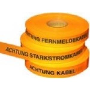 "Trassenwarnband Nr.26 ""Starkstromkabel"" 40mm x 250m gelb 145865"