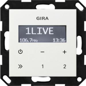 Gira UP-Radio 228403 RDS reinweiss