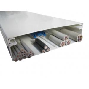 OBO Wand- und Deckenkanal WDK 60230 60x230 reinweiss 1m
