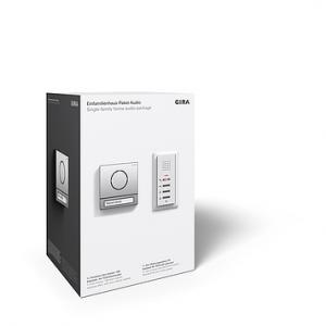 Einfamilienhauspaket EFH-Paket Audio 106 Edelstahl