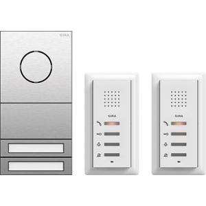 Zweifamilienhauspaket ZFH-Paket Audio 106 Edelstahl