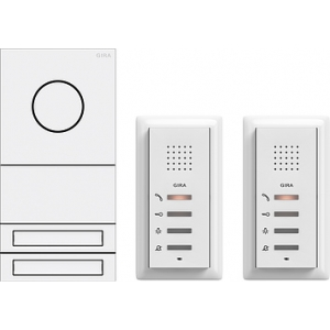 Zweifamilienhauspaket ZFH-Paket Audio 106 verkehrsweiß