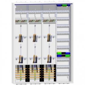 Zählerschrank 6 Zähler Verteiler 1400 mm