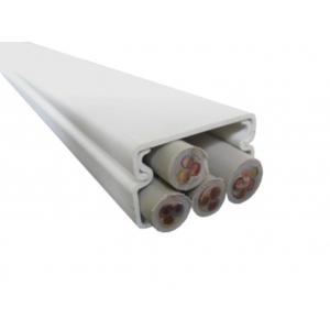PROTEC.class PVC-Kanal reinweiss PLF2030 Leitungsführungskanal 2m Stück