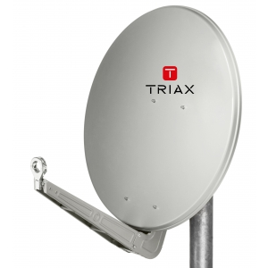 Triax SAT-Spiegel Fesat 85 HQ lichtgrau