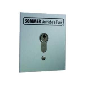 Sommer Schlüsseltaster 2-Kontakt, UP IP54
