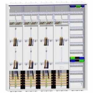 Zählerschrank 7 Zähler TSG Verteiler 1400 mm