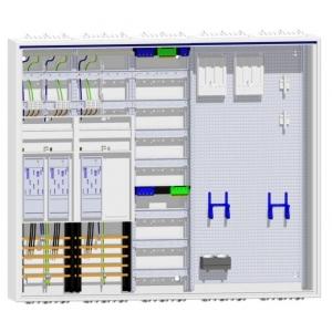 Zählerschrank 3 eHZ Zähler ZB35S +1x Verteilerfeld + doppeltes Multimediafeld