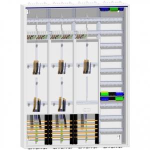 Zählerschrank 5 Zähler TSG Verteiler 1400 mm