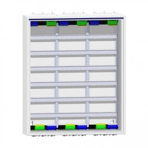 Hager Feldverteiler FWB63S Verteiler / Verteilerschrank / Verteilerkasten unterputz o. aufputz