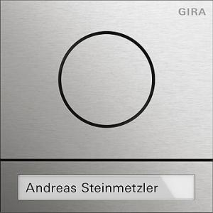 Türstationsmodul System 106 Edelstahl