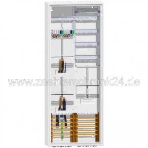 ABN Zählerschrank + Verteiler 1400 mm + 2 Zähler + TSG