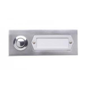Grothe Klingeltaster Aluminium-Etagenplatte ETA 501 GA
