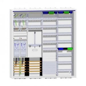 Hager Zählerschrank 2 eHZ Zähler TSG mit 144TE Verteilung und APZ
