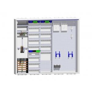 Komplettschrank 1 Zähler 2 Verteiler inklusive APZ und doppeltem Multimedia