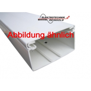OBO Wand- und Deckenkanal WDK 40090 40x90 reinweiss 2m Stück