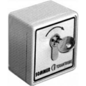Sommer Schlüsseltaster 1-Kontakt, AP IP54