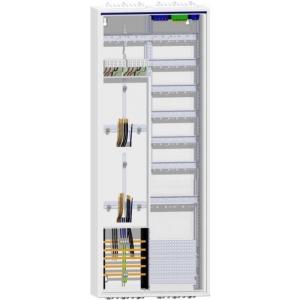 Hager Zählerschrank 2 Zähler Verteiler mit APZ 1400mm