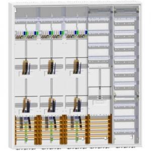 ABN Zählerschrank TSG/Verteiler + Verteiler 1400 mm 6 Zähler