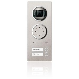 Komplettset Acero Edelstahl-Türstation mit Video-Hausstation für 2 Teilnehmer