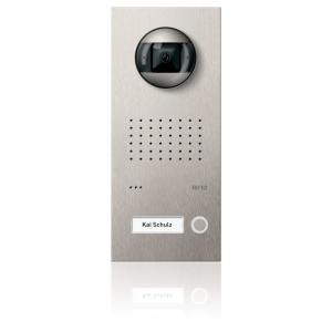 Komplettset Acero pur Edelstahl-Türstation mit Video-Hausstation für 1 Teilnehmer
