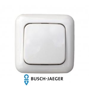 Dimmer-Set Busch-Jaeger Reflex SI mit Eltako Stromstoß-Dimmschalter