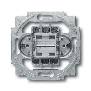 Busch-Jaeger Doppel-Aus-Wechselschalter 2000/6/2 US 2polig